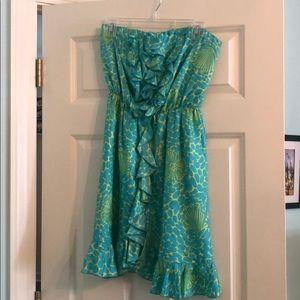 Lily Pulitzer Satin Mini Dress
